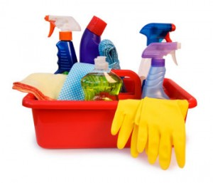 Cleaning products advertising Polished to Perfection Cornwall